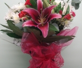 Red Lily Bouquet