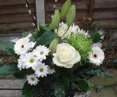 Aqua Bouquet in Gift Bag