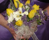 Open Bridesmaids Bouquet