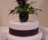 Cake Topper with Calla Lily